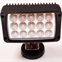 barra de luz de trabajo para coches al por mayor-6inch 45W LED Barra de luz de trabajo Lámpara de haz de inundación de punto blanco para mina 4WD 4x4 SUV / ATV BoatTruck Coche lámpara de trabajo