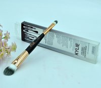 Wholesale End Tools - HOT new Kylie Dual-Ended Foundation & Concealer Brush Makeup Tools DHL Free shipping+GIFT