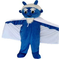 ingrosso costumi del diavolo blu-Blue Devil Mascot Costume Cartoon Character Formato adulto Longteng alta qualità (TM)
