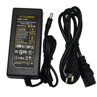 Wholesale ac power cord plug - AC 100-240V to DC 12V 6A 72W Power Adapter Supply Charger Lighting Transformers With EU AU UK US 1.2m Plug Cord For Led Strip Lights