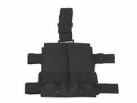 Wholesale Drop Leg Mag - Tactical Molle Double M4 5.56mm Mag Magazine Pouch Bag For Airsoft Paintball Drop Leg Panel Utility Pouch Bag