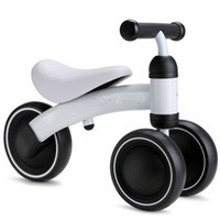 Wholesale Driving Wheel - Children kids Balance Bikes Scooter Baby Walker Infant 1-3years Scooter No Foot Pedal Driving Bike Gift for Infant three wheel