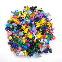 Wholesale Toys Sizes - 144pcs lot Poke Figures 2-3CM Poke Monster PVC Action Figures Small Size Pikachu Charizard Eevee Bulbasaur Suicune PVC Mini Figure Toys