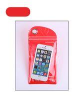 sipariş telefonları toptan satış-PVC plastik torba cep telefonu su geçirmez çanta puding membran kendinden tarz sipariş çantası takip 10 x 20