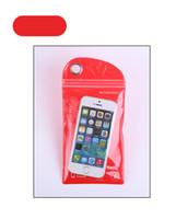 sacs imperméables en plastique iphone achat en gros de-PVC sac en plastique téléphone portable sac étanche pudding membrane auto-style commande 10 x 20 suite de sac