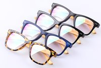 Wholesale Handmade Wooden Eyeglass Frames - Wholesale- 2016 New Optical Glasses Women Men Handmade Wooden glasses Reading Bamboo Eyeglasses Wood Frames oculos de grau N551