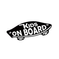 çocuk için duvar panosu toptan satış-Dahili Çocuklar Kurulu Bebek On Board Vinil Çıkartması Duvar Kapalı Bebek Kaykay Araba Styling Komik Araba Sticker Pencere JDM Için
