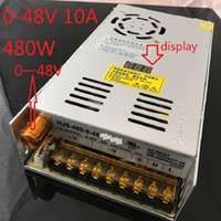 Wholesale digital adjustable power supply resale online - DC A V W Adjustable switching power supply with digital display