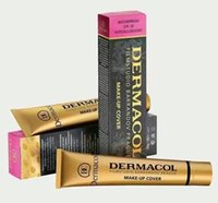 Wholesale Tatoo Water - Dermacol Base Make up DERMACOL Makeup Cover Extreme Covering Foundation Hypoallergenic Waterproof 30g Dermacol Tatoo brandd Skin Concealer
