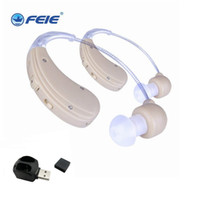 Wholesale Rechargeable Sound Enhancement - Mini ear sound enhancement rechargeable BTE behind the ear hearing devices S-109S in deaf hearing aid