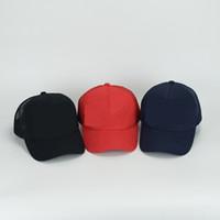 Wholesale Mens Mesh Hats - womens mens mesh hats caps leisure Cap D2 Cotton Baseball Hat casual adult snapbacks for Women Men snapback wholesale DHL free hot