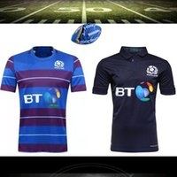 Wholesale Boys Size 16 - NEW 2015 2016 Zealand Scotland Rugby Jersey 16 17 Top Thailand quality 3A+ Scotland rugby shirt Size S-3XL free shipping
