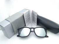 солнцезащитные очки для женщин оптовых-Лучшее качество квадратный дизайнер поляризованных солнцезащитных очков женские мужские UV400 открытый спорт пляжные очки 47 мм 54 мм с коробкой и случаях