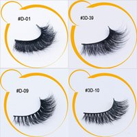 Wholesale Long Lasting False Eyelashes - 4 Styles 20Pairs Mink Lashes 3D Mink False Eyelashes Long Lasting Lashes Natural Mink Eyelashes with Packaging New Arrival