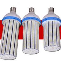 ampoule de maïs haute puissance achat en gros de-Ampoules 20W 30W 40W 60W 80W 100W 120W SMD 2835 de maïs de puissance élevée réelle E27 E39 E40 LED Lampes d'éclairage de parking de jardin