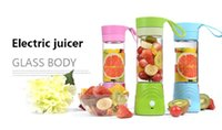 Single Gear (Masticating) Juicer 3.7v 200w 2017 Fruit Electric Portable Juicer Machine Mini USB Rechargeable Juicer Smoothie Maker Blender Shake Take Juice Slow Juicer Cup 3 Colors