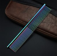 Wholesale Hot Magic Hair Style Comb Plated Baking Finish Stainless Steel Pet Comb High Quality