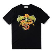 Wholesale Tee Shirt Heavy Metal - Fear Of God 310 T shirt Heavy Metal Black FOG T-shirts Rock Music Metallica Print Fashion Unisex Tees For Man S-XL