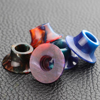 Coilart Mage Drip Tips epoxy resin art - Epoxy Resin Coilart Mage Drip Tips Epoxide Resin Drip Tip for Coil Art Mage RTA Atomizer Mouthpiece Electronic Cigarette DHL Free
