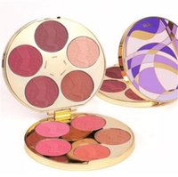 Wholesale Color Wheel Palette - 2017 New Tarte Clay Blush Palette Color Wheel Blusher Eyeshadow Highlighter 10 Colors Limited Edition Free Shipping