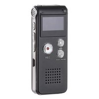 Großhandel-3in1 Tasche wiederaufladbare Mini 8GB Digital Audio-Sprach-Recorder Dictaphone 3D Stereo-MP3-Player USB-Flash-Laufwerk Top-Qualität