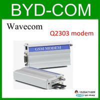 Wholesale Sms Gsm Rs232 - wavecom Q2303A GSM modem for RS232 SMS message sending report machine Bulk message sender wavecom Q2303A