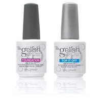 Wholesale harmony gelish nails - new colors Harmony Gelish Nail Polish STRUCURE GEL Soak off Clear Nail gel LED UV Gel Polish TOP it off Foundation nail art frence nails