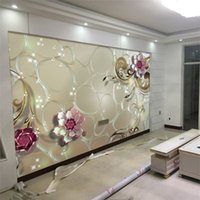 3D Embossed Rose Flower Photo Wallpaper Mural 3d Large Size For Living Room  Wedding Room Wall Art Decor Photo Printed Painting UK Part 67
