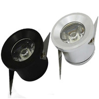 Carbinet lights Downlights LED 1W 3W LED bureau éclairage maison mini Downlight encastré LED haute puissance