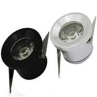 Wholesale 1w High Power Led - Carbinet lights LED downlights 1W 3W LED office home lighting mini Recessed downlight High power LED