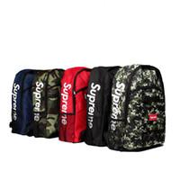 Wholesale camouflage school backpacks - school bag climb bag Nylon Backpacks Unisex Street Backpack ss backpack