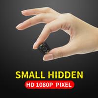 sesli ev güvenliği toptan satış-Yeni HD-Mega Lens SQ11 DV HD 1080 P Mini Kamera 12MP Araba DVR Hareket Algılama İşlevli Kızılötesi Ev Güvenlik Ses Video Kaydedici