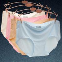 Wholesale Best Underwear For Women - Best Selling Ultra-thin Seamless Panties for Women Comfort Underwear Female Traceless Briefs Lady Knickers