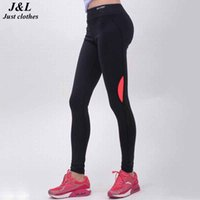 Wholesale Sexy Tops For Leggings - Wholesale- Cocked Hip Light Reflective Leggings Women Top Quality Fitness Legging Leggins Sexy Slim Pants Elastic Workout Clothes For Women
