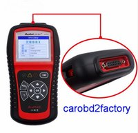 Spanish original subaru - 100 Original AUTEL AL519 AutoLink Fault Code Reader For All OBD2 CAN EOBD JOBD Cars scanner AUTEL Scanner AL519 with DHL