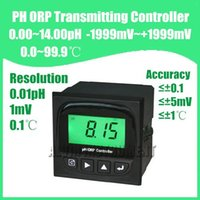 Wholesale Online Testers - Wholesale- Free Shipping Industry Online PH ORP Meter Tester Monitor 0.00 to 14.00 pH; -1999 to +1999mV 0~99.9C Accuracy 0.1pH; 5mv,1C