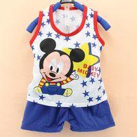 Wholesale Baby Clothes Direct - Wholesale- baby girls & boys clothes newborn sets summer roupa infantil suits cotton clothing factory-direct-clothing enfant clothes