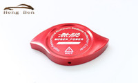 Wholesale Cap Radiator - HB Mugen High Performance Billet Aluminum Radiator Protector Pressure Cap Cover For Honda Civic Accord CR-V CR-Z CRX
