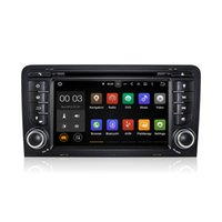 Wholesale S3 Czech - Android 5.1 Car DVD Radio Player GPS Quad Core for Audi A3 2003-2011 S3 RS3 RNSE-PU With Wifi 3G Bluetooth DAB CanBus