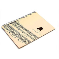 Wholesale Blank Sheet Music Manuscript Paper Musicians Notebook Composition Manuscript Pages
