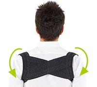 Wholesale Neck Posture - 1pcs Light Weight Adjustable Posture Corrector Corset Back Brace Relieves Neck Back and Spine Pain Improves Posture care