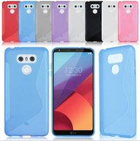 Wholesale Xperia Wave - For LG G6 Nokia 3 6 For HTC U ultra Play Moto Z M Sony Xperia XA1 S line Grip Wave Soft TPU Gel Clear skin Phone back cover case 100pcs