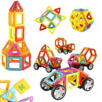 Wholesale Magnetic Toys For Kids Building - 67 PCS Magnetic Blocks - Magnetic Building Tile Set with Car Wheels, Educational Creative Construction Imagination Toys for Baby, Kids, Gi