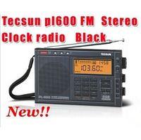 Wholesale tecsun air radio resale online - Hot Sale Tecsun pl600 Digital FM AM FM SW Air SSB Synchronous radio despertador digital portable tv radio