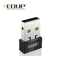 Wholesale Edup Wifi Wireless Usb Nano - EDUP 150M Mini USB Wifi Wireless Nano Adapter 150Mbps IEEE 802.11n g b LAN Ralink 5370 Network Card EP-N8531 Wholesale