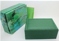 Wholesale English Suppliers - Factory Supplier Luxury Green box for rolex watches booklet card tags in english