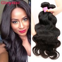 Wholesale human hair weave extensions uk for sale - Peruvian Human Hairs Body Wave Hair Weaves Peruvian Virgin Hair Bundle Deals g Piece Unprocessed Human Hair Extensions Weft uk