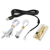 Wholesale panel circuit - Wholesale- DIY Arcade Rocker Circuit Board Zero Delay Arcade USB Encoder PC to Joystick Control Panel For MAME 2pin + Push Buttons