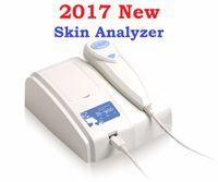 Wholesale Skin Analyzer Camera - 2017 Newest 8.0 MP High Resolution Digital CCD USB Multifunctional UV Skin Analyzer Skin Camera Skinscope Skin Diagnosis DHL Free Shipping
