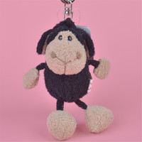 8-11 Years black sheep farm - 5 cm Black Sheep Stuffed Animals Plush Keychain Backpack Pendant Keyring Plush Toys